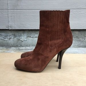 VINCE Kelly Ankle Suede Booties